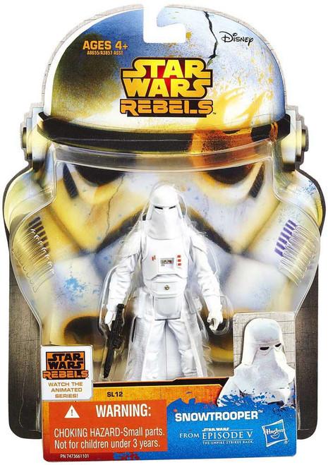 Star Wars The Empire Strikes Back Saga Legends 2014 Snowtrooper Action Figure SL12