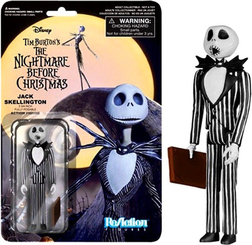 Funko Nightmare Before Christmas ReAction Jack Skellington Action Figure [Surprised]