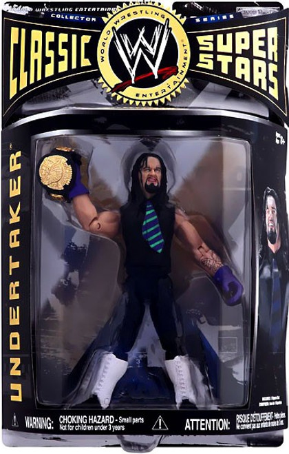 WWE Wrestling Classic Superstars Series 1 Undertaker Action Figure