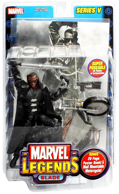 Marvel Legends Series 5 Blade Action Figure
