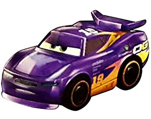 Disney Cars Die Cast Mini Racers Danny Swervez Car [Metallic Version Loose]