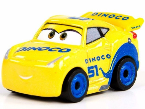 Disney Cars Die Cast Mini Racers Dinoco Cruz Ramirez Car [Loose]