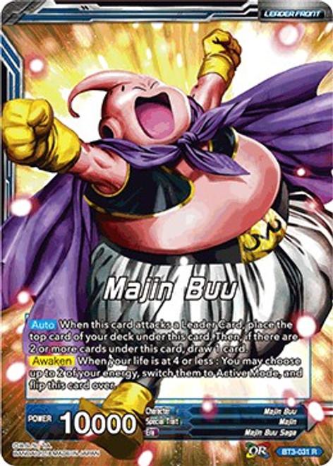 Dragon Ball Super Collectible Card Game Cross Worlds Rare Majin Buu BT3-031
