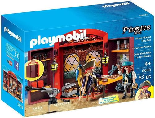 Playmobil Pirates Pirate Hideout Play Box Set #5658