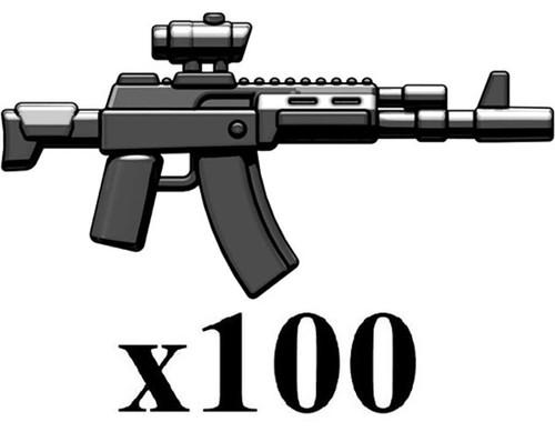BrickArms Lot of 100 AK-12 2.5-Inch [Black]