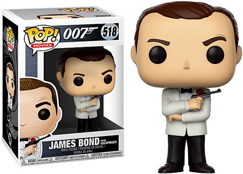 Funko 007 POP! Movies James Bond Vinyl Figure #518 [Sean Connery, Goldfinger, Damaged Package]