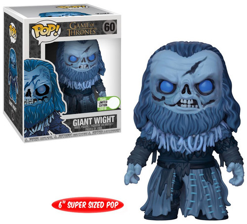 Funko Game of Thrones POP! TV Giant Wight Exclusive 6-Inch Vinyl Figure #60 [Super-Sized]