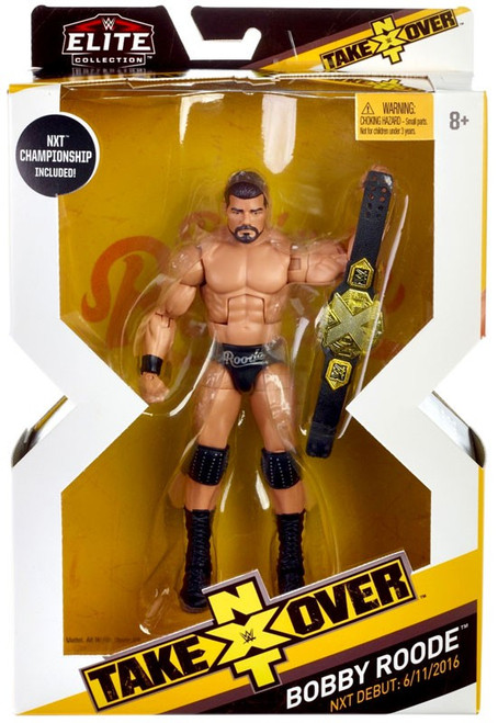 WWE Wrestling Elite NXT Takeover Bobby Roode Action Figure
