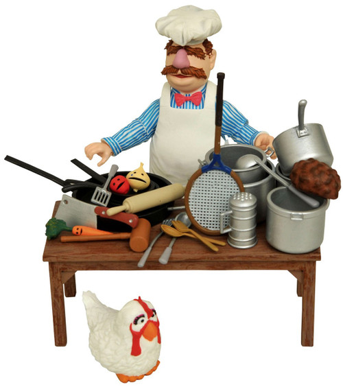 The Muppets Swedish Chef Action Figures