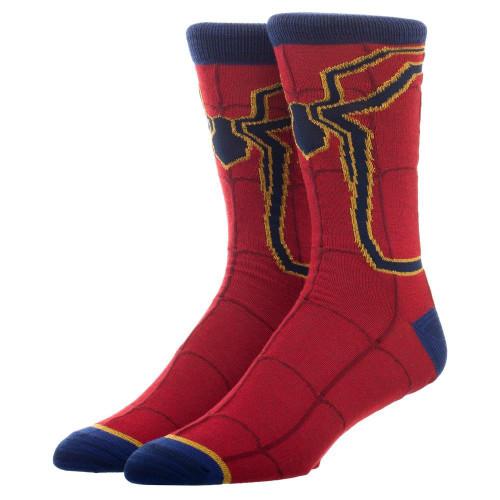 Marvel Avengers Infinity War Iron Spider Crew Socks
