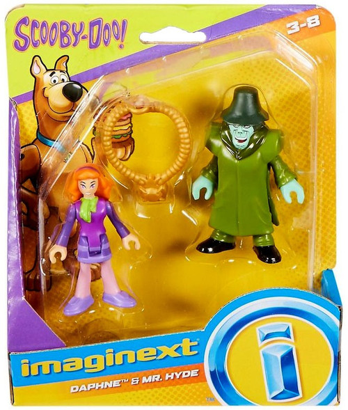 Fisher Price Scooby Doo Imaginext Daphne & Mr. Hyde 3-Inch Mini Figure 2-Pack
