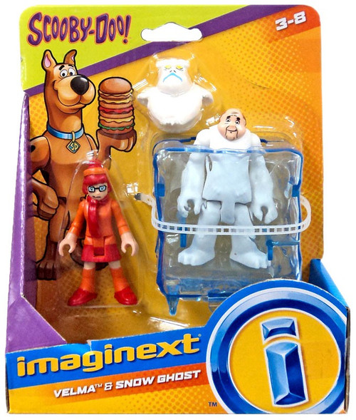 Fisher Price Scooby Doo Imaginext Velma & Snow Ghost 3-Inch Mini Figure 2-Pack