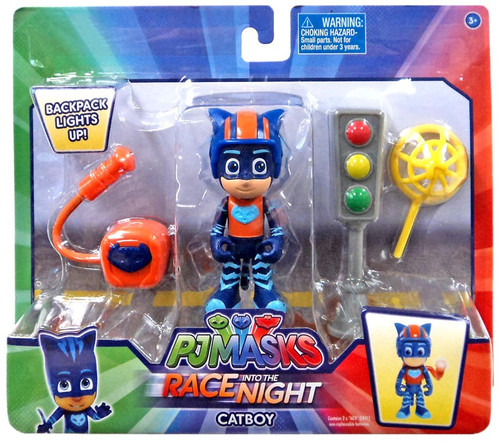 Disney Junior PJ Masks Race into the Night Catboy Exclusive 3.5-Inch Figure Set