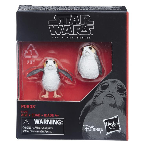 Star Wars The Last Jedi Black Series Porgs Action Figure 2-Pack