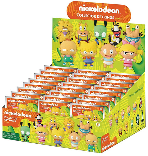 3D Figural Keyring Nickelodeon Series 2 Mystery Box [24 Packs]