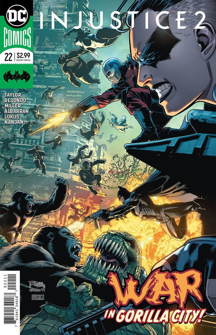 DC Injustice 2 #22 Comic Book