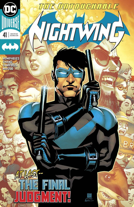 DC Nightwing #41 Comic Book