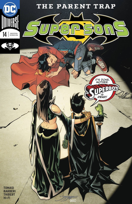 DC Super Sons #14 Comic Book