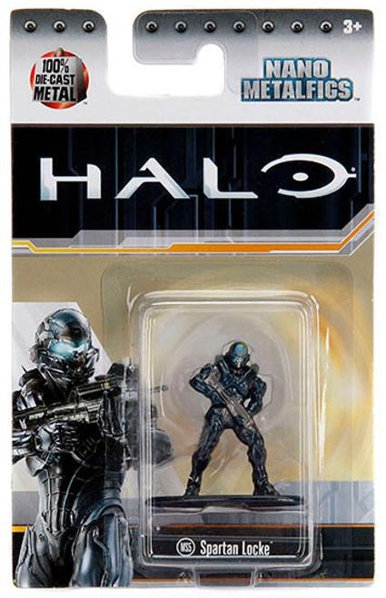 Halo Nano Metalfigs Spartan Locke Diecast Figure MS5