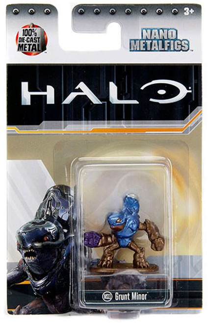 Halo Nano Metalfigs Grunt Minor Diecast Figure MS11