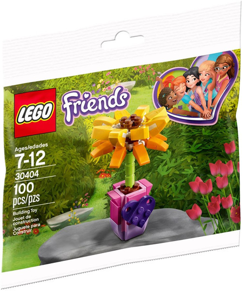 LEGO Friendship Flower Mini Set #30404 [Bagged]