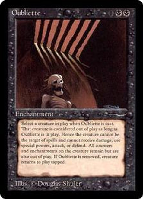 MtG Arabian Nights Common Oubliette [Slightly Played]