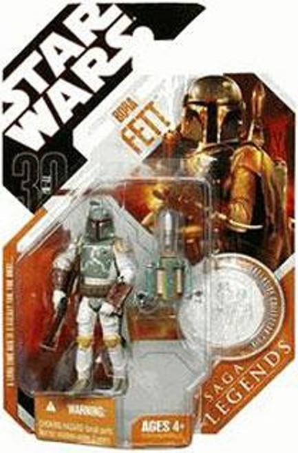 Star Wars Empire Strikes Back 2007 Saga Legends (30th Anniversary) Boba Fett Action Figure #11