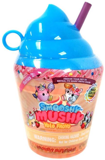 Smooshy Mushy Yolo Froyo Smooshy Surprises! Series 2 BLUE Mystery Pack