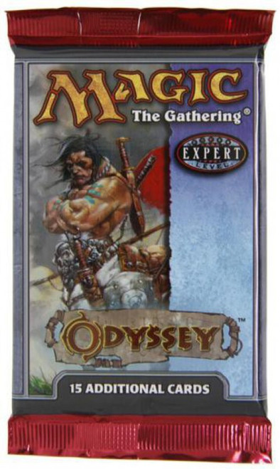 MtG Trading Card Game Odyssey Booster Pack [15 Cards]