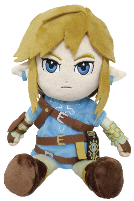 The Legend of Zelda Breath of the Wild Link 12-Inch Plush