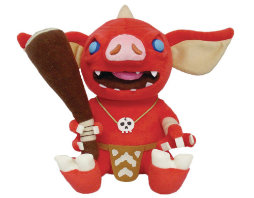 The Legend of Zelda Breath of the Wild Bokoblin 12-Inch Plush