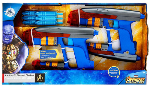 Disney Marvel Avengers Infinity War Star-Lord Element Blasters Exclusive Roleplay Set [2018]