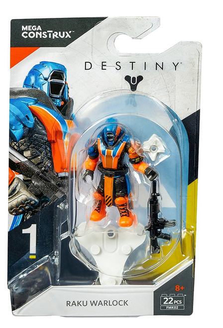Destiny Heroes Series 1 Raku Warlock Mini Figure