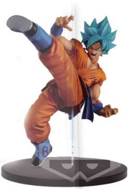 Dragon Ball Super FES!! Super Saiyan Blue Goku 7.5-Inch Collectible PVC Figure [Super Saiyan Blue]