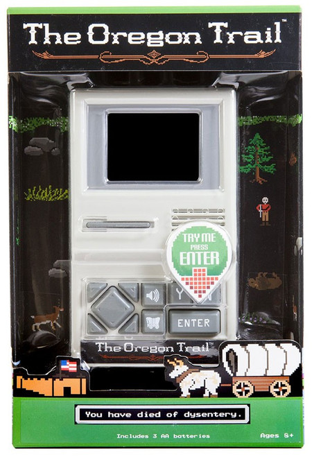 The Oregon Trail Exclusive Electronic Handheld Game