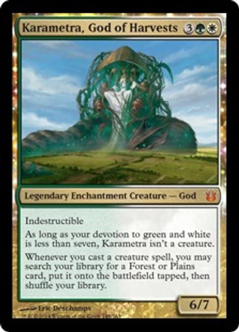 MtG Born of the Gods Mythic Rare Foil Karametra, God of Harvests #148