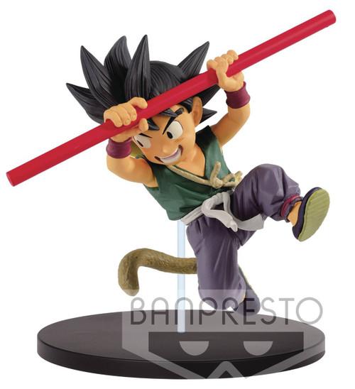 Dragon Ball FES!! Young Son Goku 5.9-Inch Collectible PVC Figure [Green Shirt]
