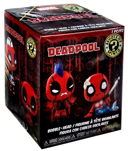 Funko Marvel Mystery Minis Deadpool Mystery Pack