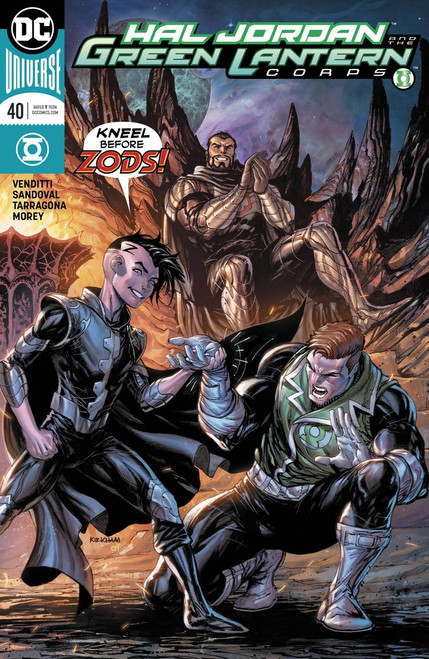 DC Hal Jordan and The Green Lantern Corps #40 Comic Book [Variant Cover]