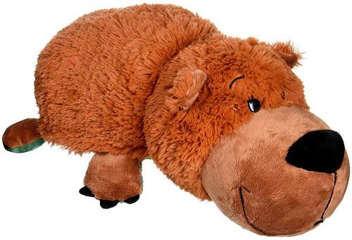Flip a Zoo Gorgo Grizzly Bear & Axel Alligator 15-Inch Plush