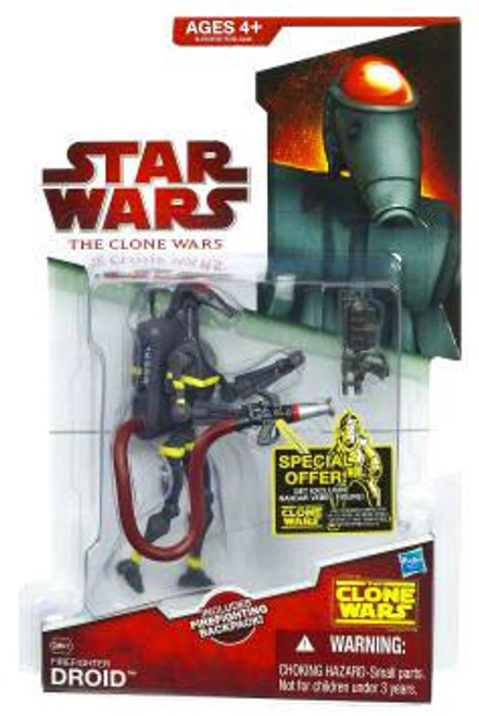 Star Wars The Clone Wars 2009 Firefighter Droid Action Figure CW47