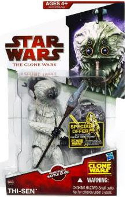 Star Wars The Clone Wars 2009 Thi-Sen Action Figure CW43