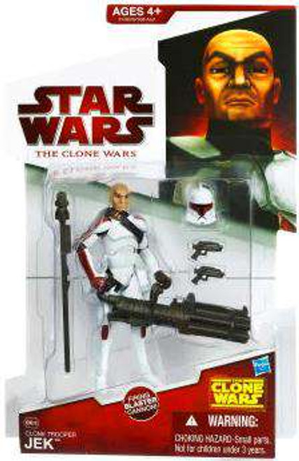 Star Wars The Clone Wars 2009 Clone Trooper Jek Action Figure CW38