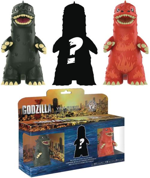 Funko Mystery Minis Godzilla Vinyl Figure 3-Pack