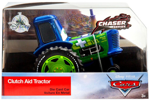 Disney / Pixar Cars Cars 3 Chaser Series Clutch Aid Tractor Exclusive Diecast Car
