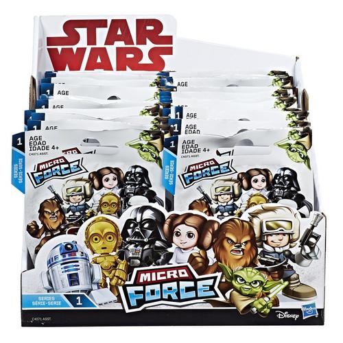 Star Wars Micro Force Series 1 Mystery Box [24 Packs]