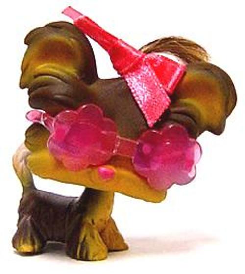 Littlest Pet Shop Yorkshire Terrier Figure #398 [Sunglasses Loose]
