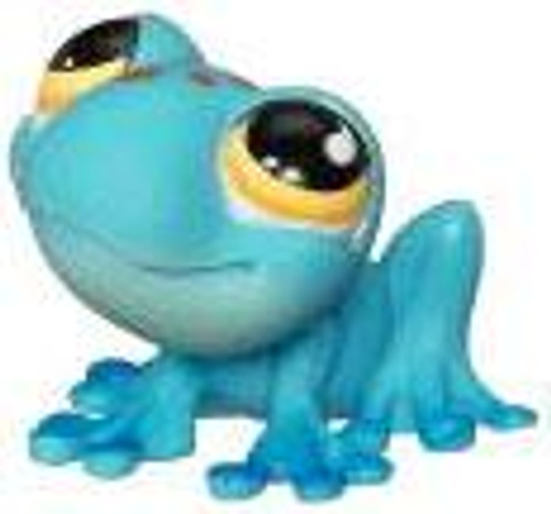 Littlest Pet Shop Frog Figure [Blue Loose]