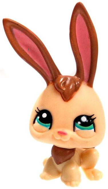 Littlest Pet Shop Cutest Pets Bunny 1.5-Inch Mini Figure #2434 [Tan & Brown Loose]