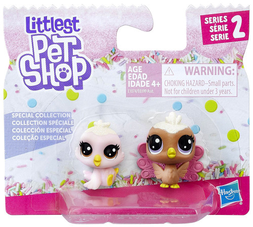 Littlest Pet Shop Special Collection Series 2 Strawberry Birdet & Velvet Peahen 2-Pack [Birds]